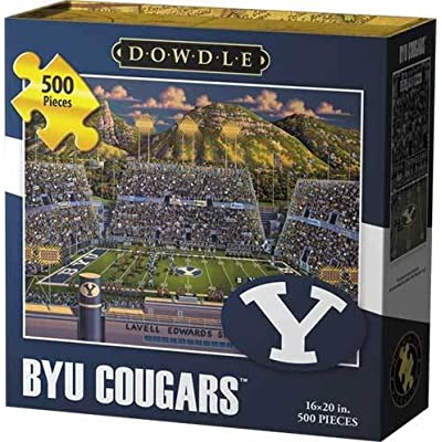 Dowdle Jigsaw Puzzle - BYU Cougars - 500 Piece: Toys & Games
