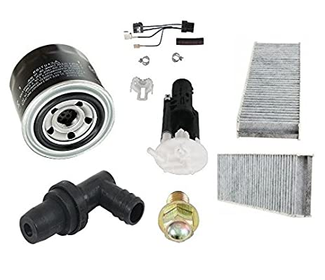 Amazoncom Tune Up Kit Filters Cabin Air Oil Fuel PCV Valve - 1999 acura tl oil type