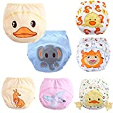 Baby Toddler 7 Pack Toilet Training Pants Nappy Underwear Cloth Diaper M