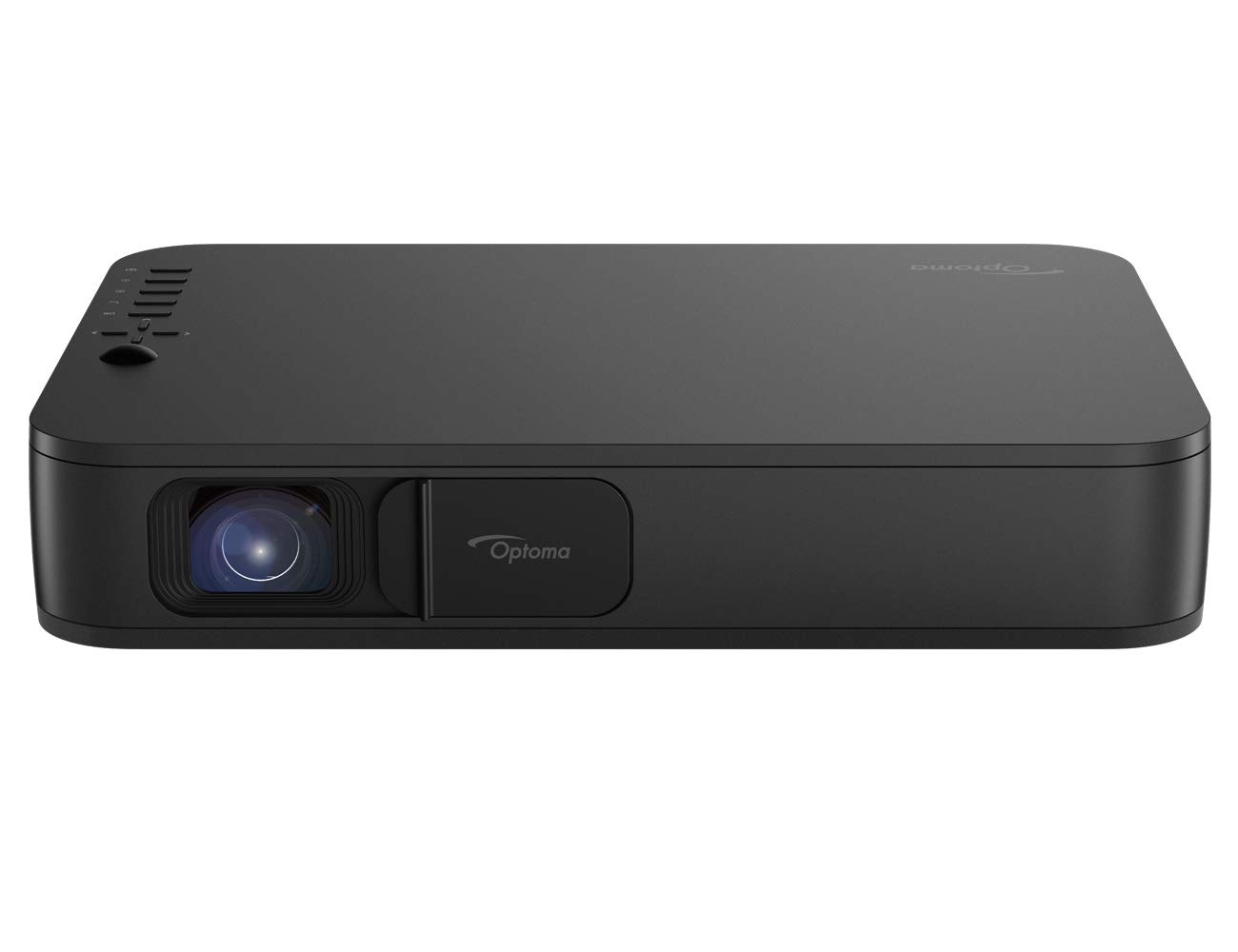 Optoma LH150 Portable 1080p LED Mini Projector with Battery, for Outdoor Movies or Office Presentations, 2.5 Hour Battery Life, USB Display Screen Mirroring, Smartphone Compatible by Optoma