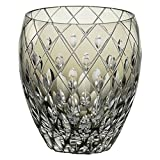 Kagami Crystal Edo Kiriko traditional craftsman Shinozaki Hideaki shochu rock glass Black T682-2641-BLK