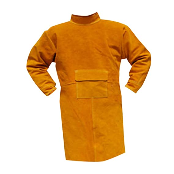MagiDeal Welding Long Coat Protective Clothing Apparel Workwear Kit For Welder - - Amazon.com