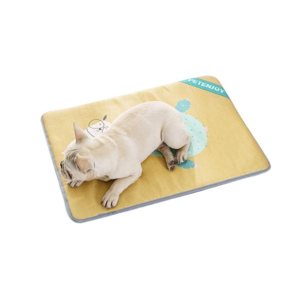 C Small C Small ZAIHW Pet Cooling Mat for Dogs & Cats Dog Accessories to Help Your Pet Stay Cool This Summer Avoid Overheating, Ideal for Home & Travel (color   C, Size   S)