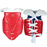 Wesing WTF approved Taekwondo Chest Protector TaeKwonDo Solid Reversible Chest Guard Protector