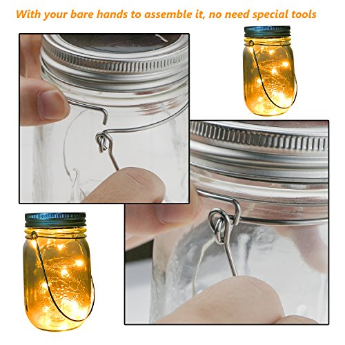 Wire Handles for mason jars