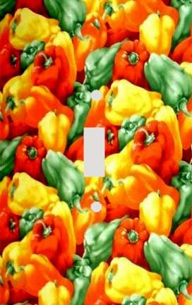 (Mixed Peppers Switchplate - Switch Plate Cover)