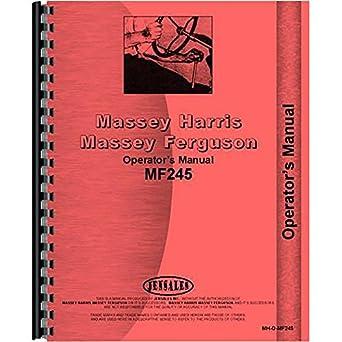 245 massey ferguson manual