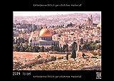 Israel 2019 - Black Edition - Timokrates Wandkalender, Bilderkalender, Fotokalender - DIN A3 (42 x 30 cm)