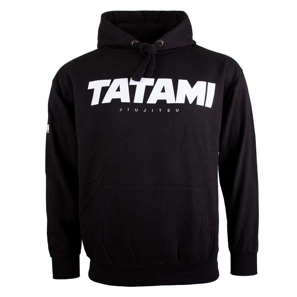 Tatami Fightwear Essential 2019 Hoodie Capucha Hombre Negro Gris ...