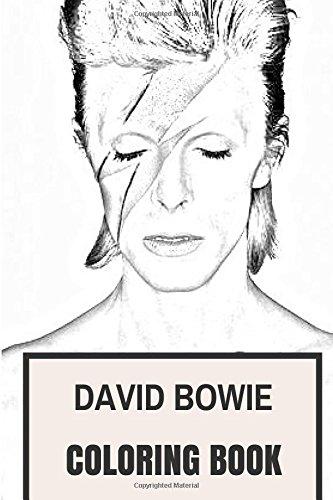Amazon Com David Bowie Coloring Book Legendary Pop Tribute Music