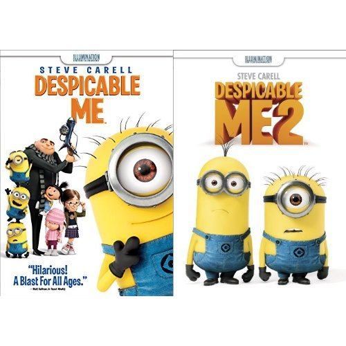 Despicable Me + Despicable Me 2 (DVD) (Despicable Movie)