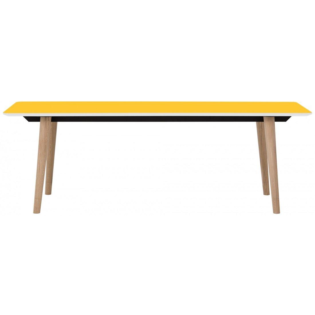 Esstisch Gelb Tisch Esszimmertisch Designer: Amazon.de: Küche & Haushalt