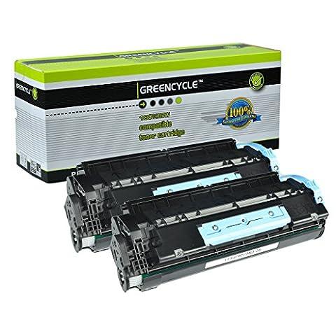 GREENCYCLE 2 PK Black Toner Cartridges Replacement for Canon 106 0264B001AA imageClass MF6530 MF6540 MF6550 ( 5000 Yield per toner (Canon Imageclass Mf6540 Toner)