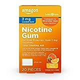 Amazon Basic Care Nicotine Polacrilex Coated Gum 2