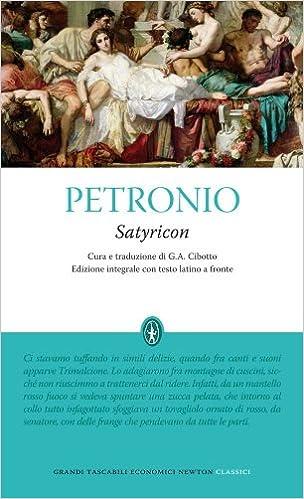 SATYRICON PETRONIO PDF ITALIANO EPUB DOWNLOAD