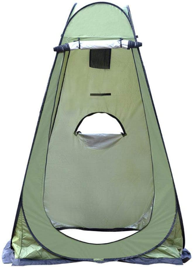 Pop Up Pod Tente Portable Camping Tente De Douche Dressing Instantan/é Vestiaire Salle De Confidentialit/é Tente Camp Toilette Tente Dabri De Pluie pour Camping en Plein Air Plage