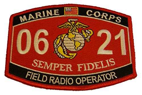Marine Corps 0621 Field Radio Operator MOS Patch - Veteran Owned Business
