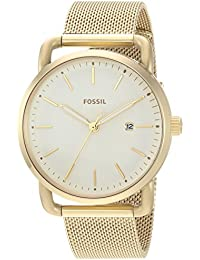 Women's 'Commuter' Quartz Stainless Steel Casual Watch, Color:Gold-Toned (Model: ES4332)