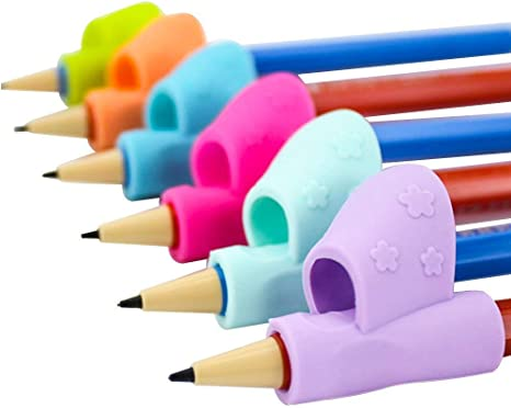 Pack of 4 Pen or Pencil WeightsHandwriting Aid for Children Elderly or Spec