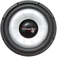 American Bass Sl104 10 500w Car Audio Slim Subwoofer Sub 500 Watt