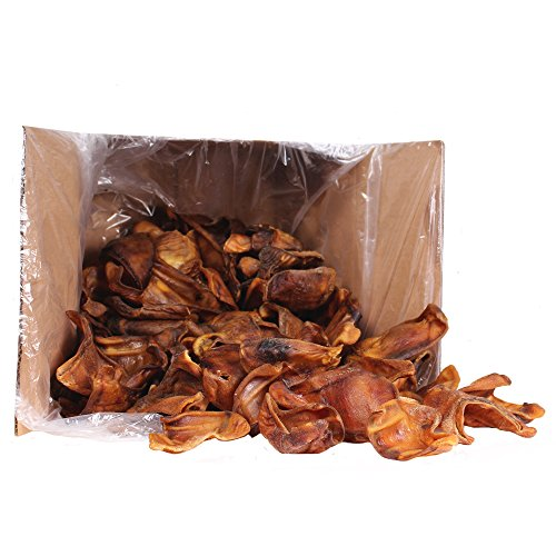 Pet's Choice 100-Pack Pig Ear Treats for Dogs by Pets Choice