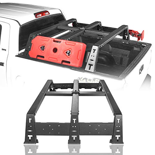 """Hooke Road Tundra Bed Rack Mount MAX 13"""" High Cargo Carrier for 2014-2020 Toyota Tundra Regular 