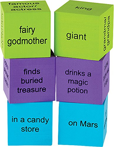 Teacher Created Resources Foam Story Starter Cubes (20641)