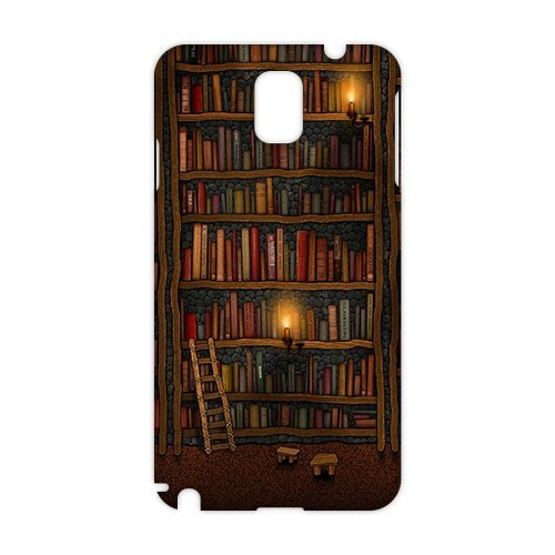 Evil Store Bookshelf And Candle Light 3D Phone Case For Samsung Galaxy S5 By Kobestar