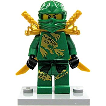 Amazon.com: LEGO Ninjago Lloyd Minifigure [Green & Gold Ninja ...