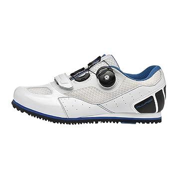 Shoes Zapatillas de Carretera Masculinas y Femeninas, Malla Transpirable Antideslizante portátil Zapatillas de Bicicleta de montaña desbloqueadas, ...