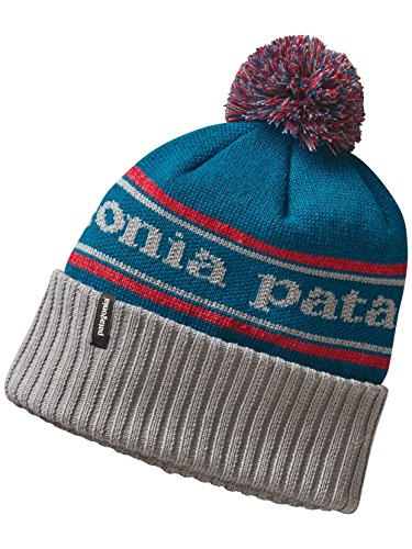 Patagonia Powder Town Beanie (Drifter Grey) - Costume Made From Recycled Materials