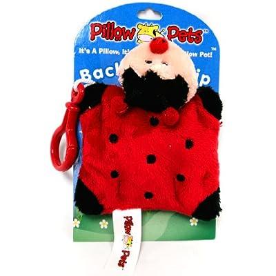 Pillow Pets Back Pack Clip - Ladybug