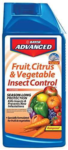 Bayer Tree Insecticide - Bayer Advanced 701520 Fruit, Citrus and Vegetable Insect Control Concentrate, 32-Ounce