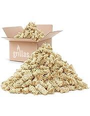 grillas bio-haard aanmaakblokjes van houtvezel, gedrenkt in was | kolenstarter | barbecue aanmaakblokjes | was aanmaakblokjes | aanmaakvezel | aanmaakhulp | geen residu