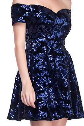 RICARICA Coming Occasion for Short Prom Home Navy Dresses Puffy Special 5 qwqS76T