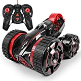 ToyPark 2WD Remote Control RC Vehicle With LED Headlights 360 Degree Rolling Rotating Rotation