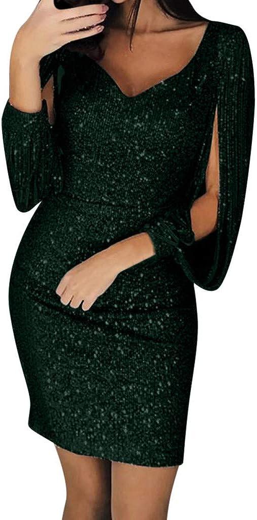 WOCACHI Dresses S Women...