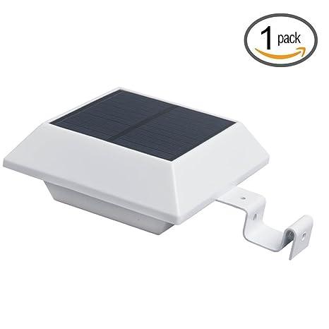 Focos Solares Led con Sensor de Movimientos,Luz Solar Jardín,Impermeable,Patio,