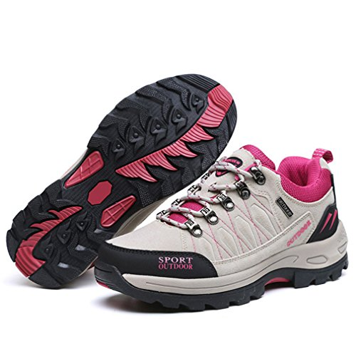 XIGUAFR gris botas bajo caño de adulto Unisex xfPq6wx