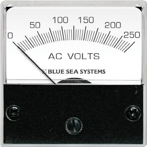 Blue Sea Systems 0 to 250V AC Micro Voltmeter