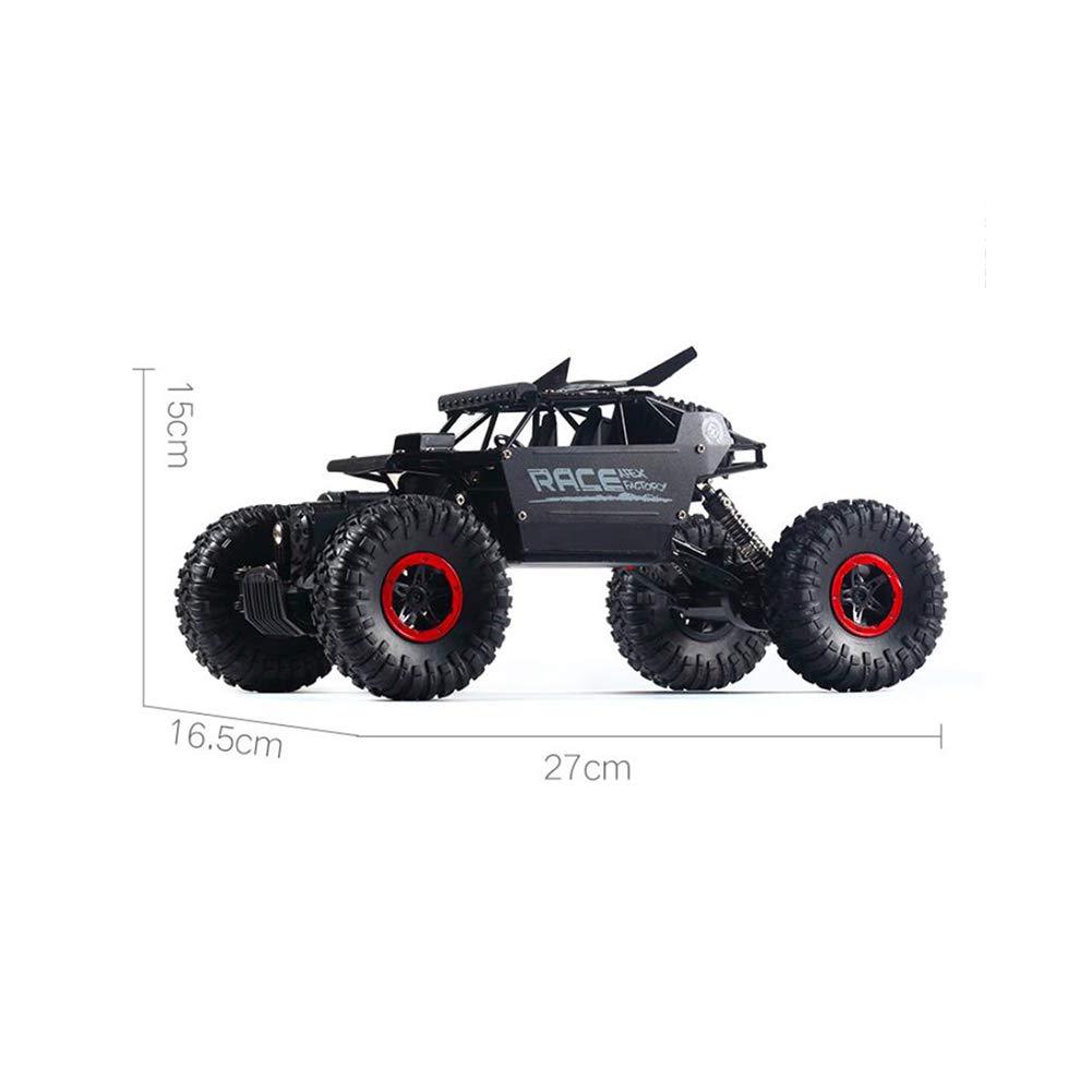 LF Tracción en Las Cuatro Ruedas Coche teledirigido SUV Control Remoto Racing Climbing Car Coche eléctrico del Juguete (Color : Negro) : Amazon.es: ...