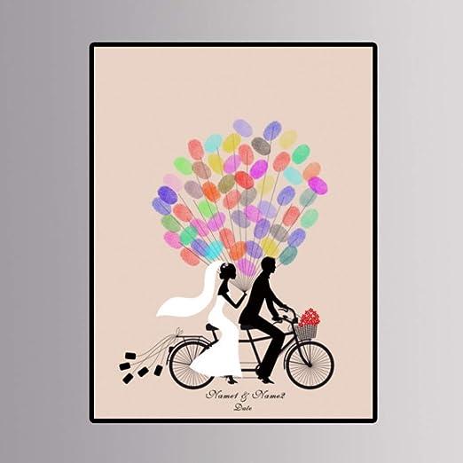 Personalizado Personalizado Novio Novia Paso A Paso Bicicleta ...