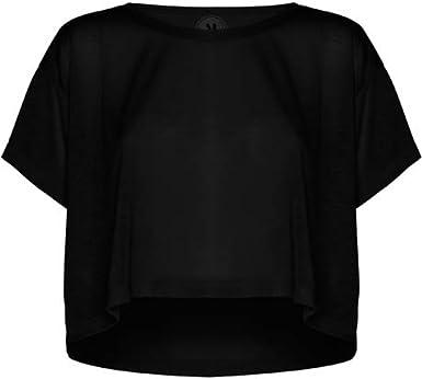 ROLY Camiseta Negra de Mujer Cella: Amazon.es: Ropa