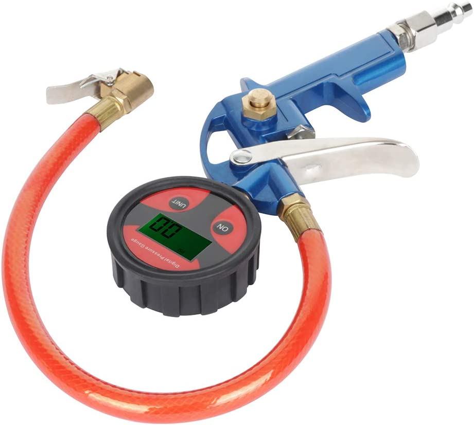 ECCPP 200 PSI LCD Digital Tire Inflator with Pressure Gauges Fit for All Vehicles
