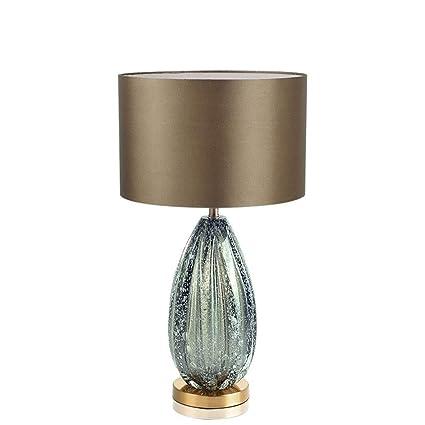 HW.Q Lámpara de Mesa, Moderna Americana Simple Gris Verde ...