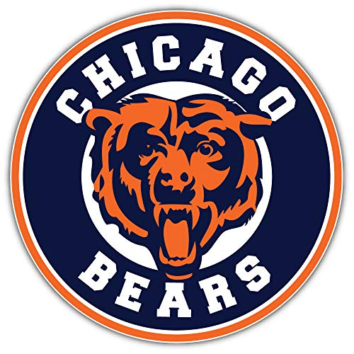 chicago bear stickers - 9