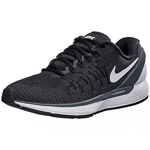 Nike Womens Air Zoom Odyssey 2 Running Shoe Black/Anthracite/Summit White 6.5 2 Zoom Air Shoes