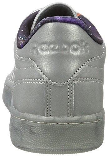 snowygrey silver Tdg Homme Gris C Reebok Club Chaussures Met De Gymnastique 85 qxwf1PwR