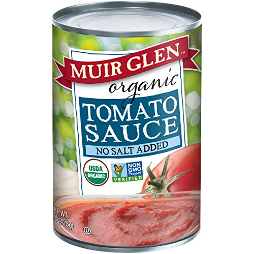 Muir Glen, Organic Tomato Sauce, No Salt Added, 15 oz