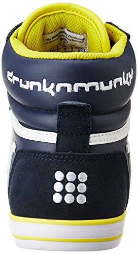 DrunknMunky Boston Classic 001Navy Blue/Yellow